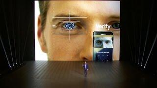 Samsung highlights iris-scanning tech in new Galaxy Note 7 (CNET News)