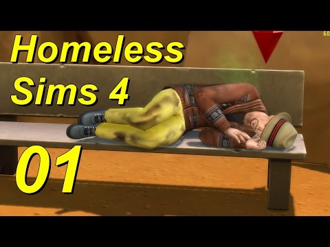 Homeless Sims 4 Episode 01 Liberal Arts Major with College D