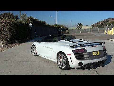 I Drive an Audi R8 GT Spyder.. then Race a Ferrari 488
