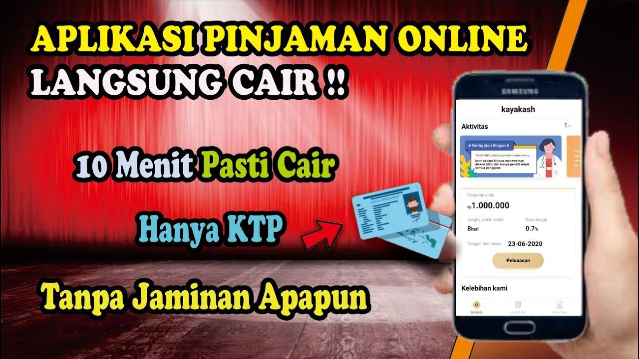 Hanya Gunakan Ktp Langsung Acc Di Aplikasi Pinjaman Online