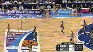 2001 NCAA Women