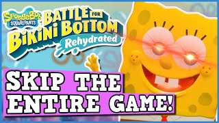 Spongebob Square Pants Battle For Bikini Bottom Is A Perfectly Balanced Game With No Exploits....