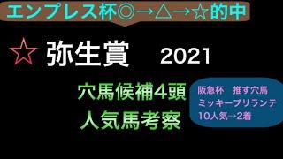 【競馬予想】 弥生賞 2021 事前予想 人気馬考察 穴馬考察