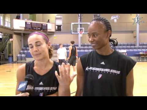 The Teammate Game with Becky Hammon and Vickie Johnson