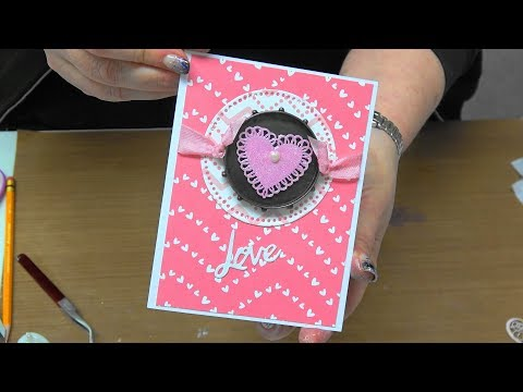 "#227 Learn to use Spellbinders ""Mixage"" Embellishments with Nuvo Mousse by Scrapbooking Made Simple"