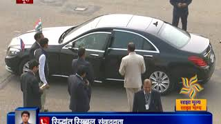 Prime Minister of Cambodia Hun Sen arrives in New Delhi for ASEAN-India summit