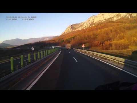 Slovenia. Speedway H4, 0-35 km. 2015-12, 1x