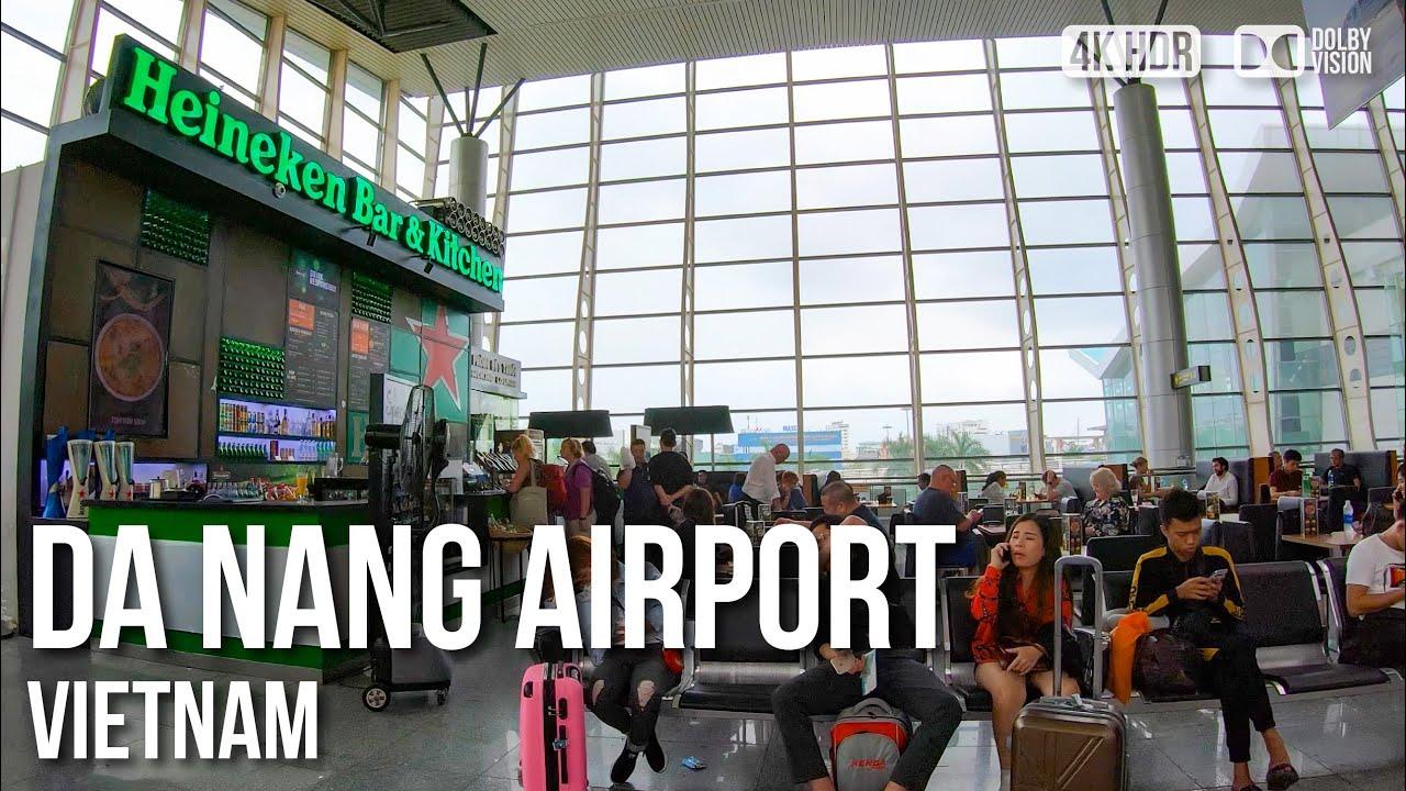 Da Nang (Đà Nẵng) Airport – 🇻🇳 Vietnam – 4K Virtual Tour