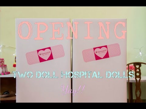 Opening 2 Dolls From The AG Hospital!