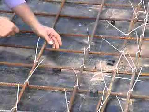 Как вязать арматуру крючком для фундамента