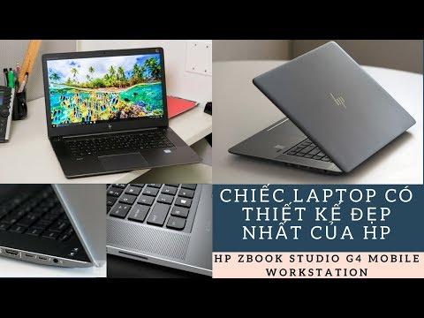 Đập Hộp Siêu Laptop Đồ Hoạ HP ZBOOK STUDIO G4 MOBILE WORKSTATION