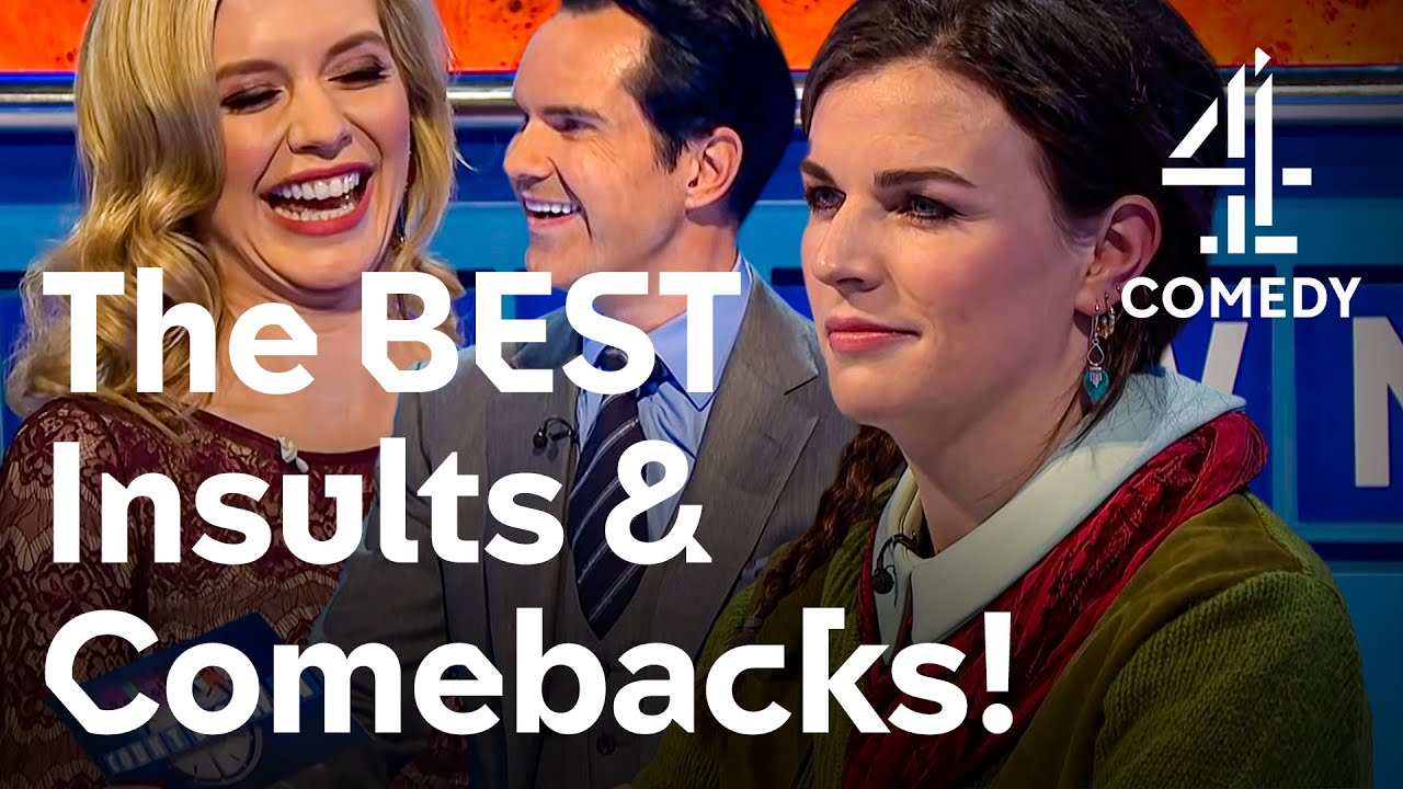 Download Epic Insults & Comebacks!   8 Out Of 10 Cats Does Countdown