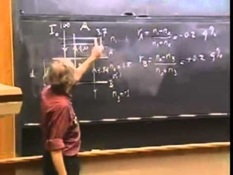Lec 20: Huygens' Principle, Interference | 8.03 Vibrations and Waves, Fall 2004 (Walter Lewin)