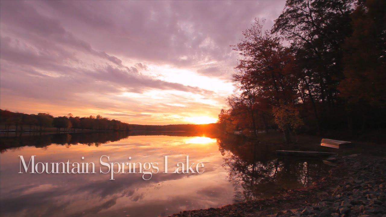 mountain springs lake resort - youtube