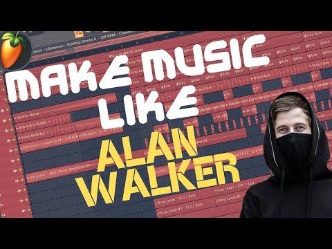 HOW TO MAKE MUSIC: like ALAN WALKER - FL Studio Tutorial   FREE FLP thumbnail