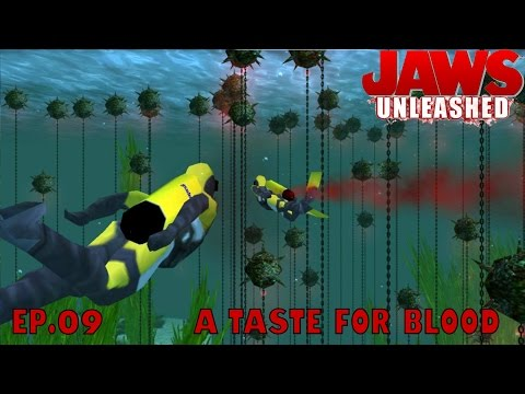 Let's Play Jaws Unleashed Ep.09 A TASTE FOR BLOOD