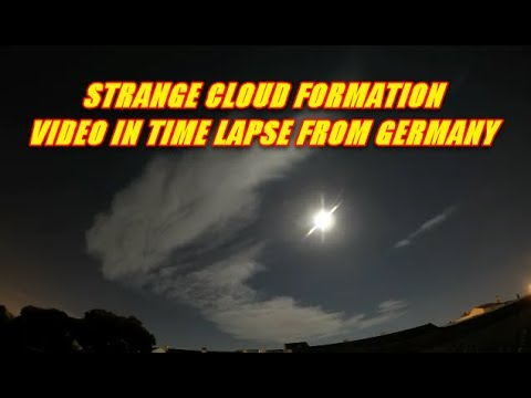 STRANGE CLOUD FORMATION IN TIMELAPSE FROM GERMANY