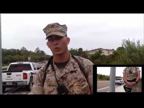 First Amendment Test Return To Camp Pendleton Marine Base