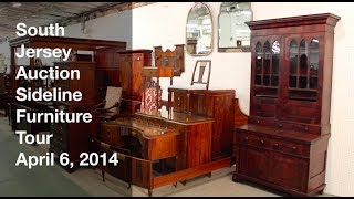 April 6, 2014 - Sideline Furniture Tour - South Jersey Auction