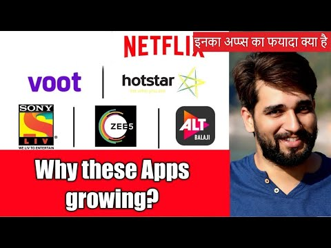 Why these apps coming now if tv channels available in India (OTT Apps or OTT Players) | Hindi