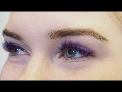 3b77fdde13e How To Achieve Unicorn Eyelash Goals with SVS Colour Lash Extensions -  YouTube