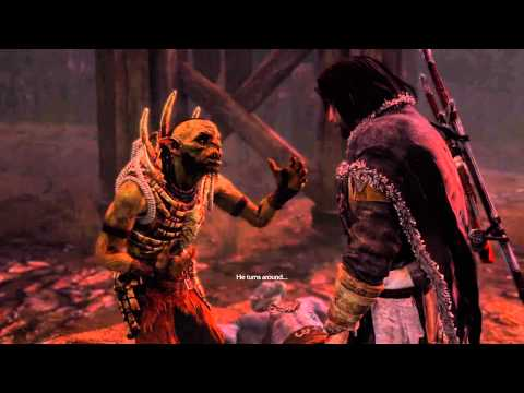 Middle-earth™: Shadow of Mordor™ - One of my fav RatBag cutscenes