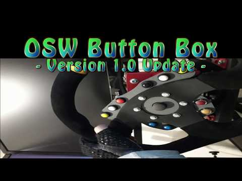 3D Printed Wheel Button Box Version 1 0 - in Game Demo - YouTube