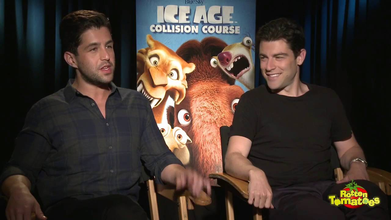 Ice Age Collision Course Interview Josh Peck Sections From Rotten Tomatoes Get Frozen & Acorn