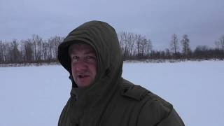 Отдых в деревне, рыбалка на налима, проверка капканов на соболя декабрь 2019 г.
