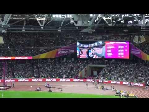 4 x 400m relay Womans final- World Championship Athletics London 2017- won by USA