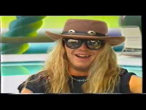Poison Bret Michaels Interview 1990 MTV Australia - YouTube