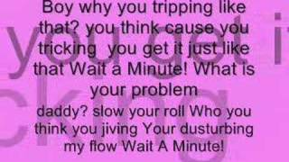 pussyCat Dolls Wait a Minute (lyrics)