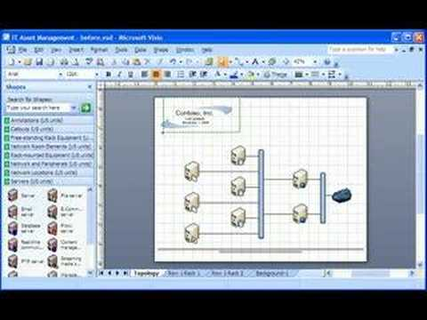 visio 2007 demo create a background and watermark - Visio Download Free 2007