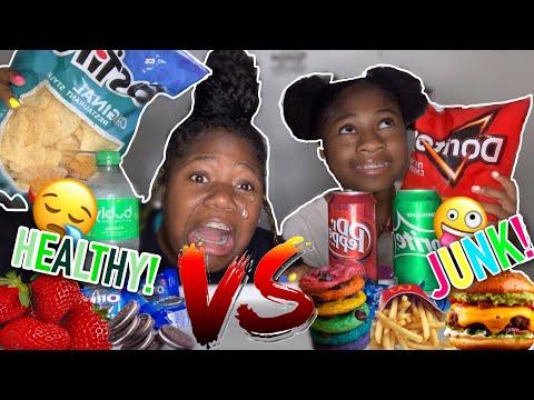 healthy-food-vs-junk-food-challenge!!
