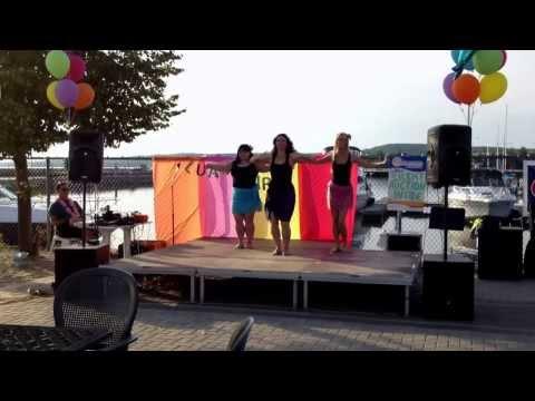 Femininity at Shineramas Luau Party.  North Bay Ontario 2013