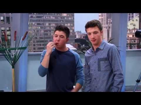Lab Rats: Elite Force The Intruder - hot dogs on a rake