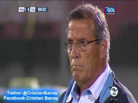 (Relato Emocionante)  Uruguay 3 Chile 0 (Relato Alberto Raimundi) Eliminatorias a Rusia 2018