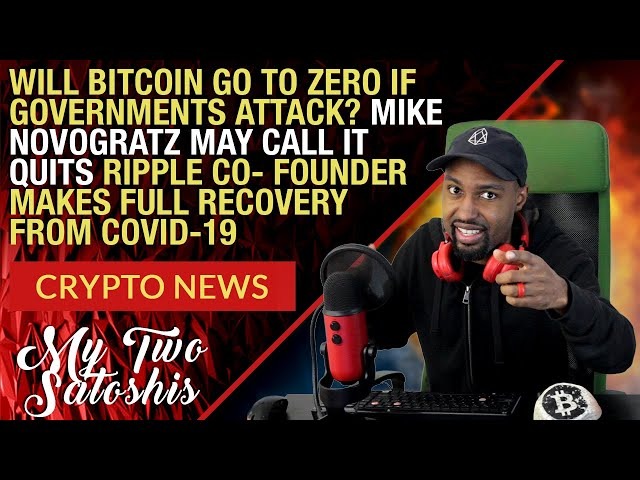 Daily Crypto News Ripple Founder Recovers From CV19, Mike Novogratz Might Quit Crypto