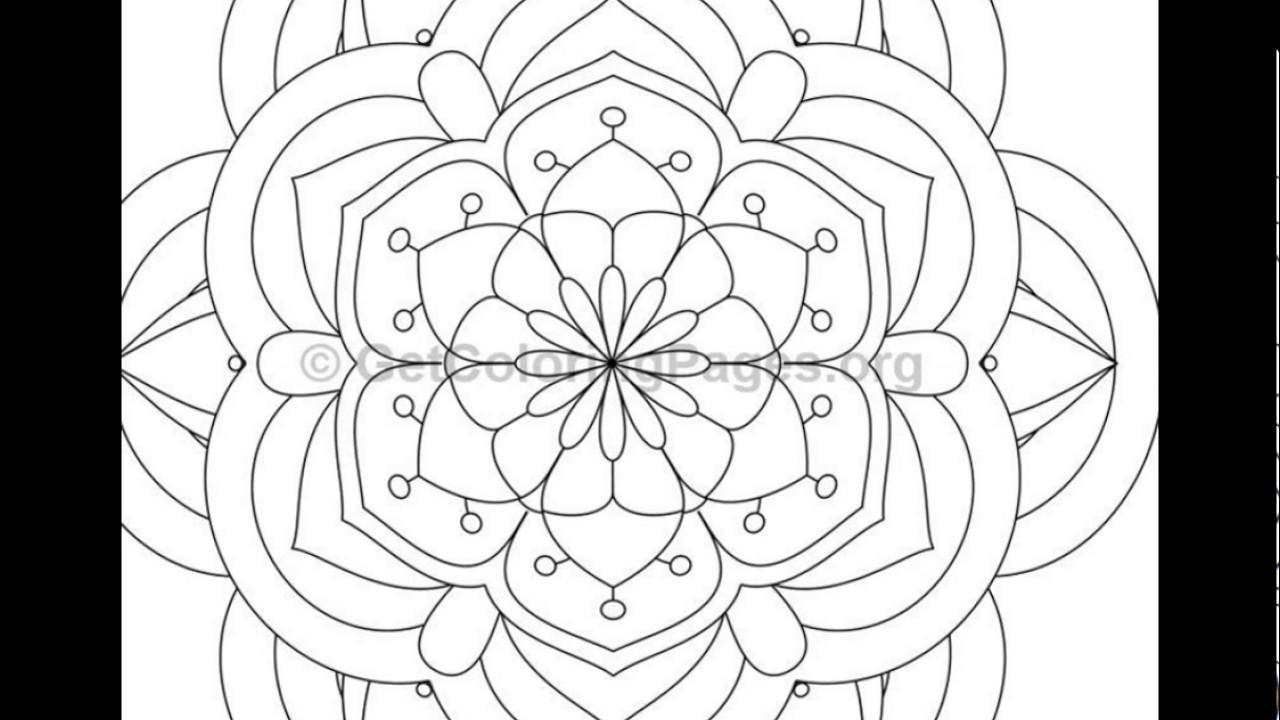 Mandala Coloring Pages PDF | Coloring Page, Mandala, Instant PDF ... | 720x1280