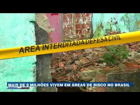 Brasileiros Vivem Em áreas De Risco E Correm Perigo