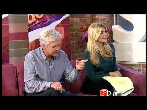 Holly Willougby - This Morning - Green Satin Blouse Clip 1080p HD (Upscaled) CIB