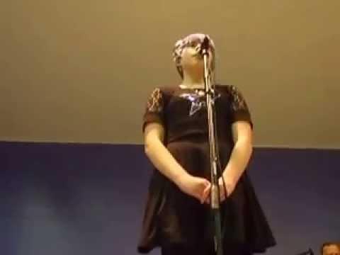 Maria at 12 Singing Titanium at Glenwood Center