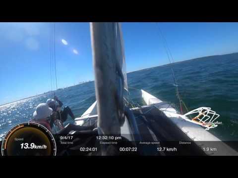 Nacra F18 Catamaran Sailing - Botany Bay - Kurnell Catamaran Club