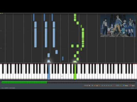 Fairy Tail Opening 6 - Fiesta (Synthesia)
