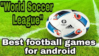 TOP BEST FOOTBALL GAMES FOR ANDROID AND IOS |Top Android Games For 2GB/4GB RAM