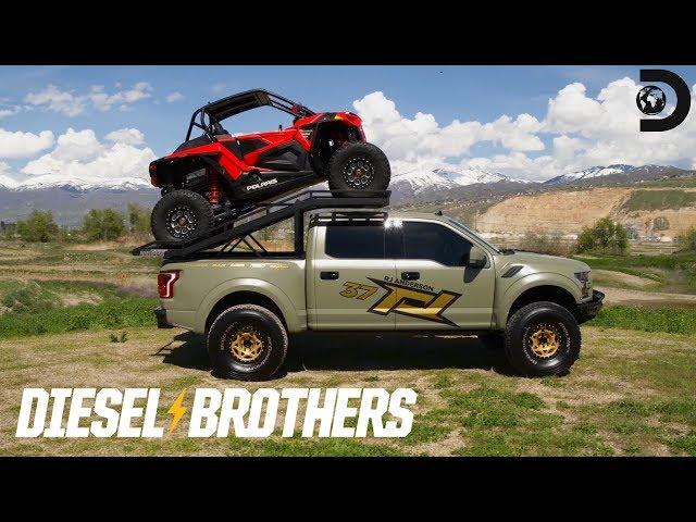 Truck Reveal: RJ Anderson's Ford Raptor   Diesel Brothers