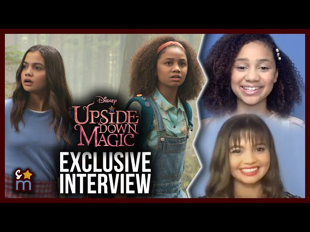UPSIDE-DOWN MAGIC Cast Talk Auditions, Bloopers & Possible Sequel | Izabela Rose & Siena Agudong