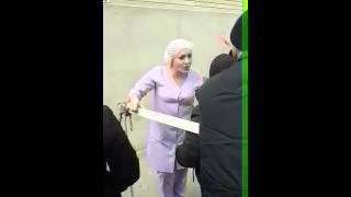 Митинг сегодня в Хасавюрте, Центральная Больница- 3.02.2016