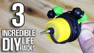 3 Incredible Life Hacks and Ideas