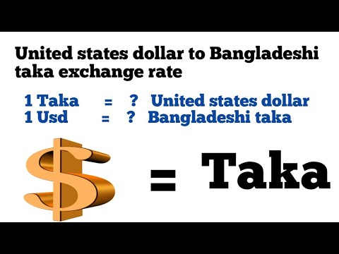 Usd To Taka|1 United States Dollar To Bangladesh Taka Exchange Rate|dollar To Taka